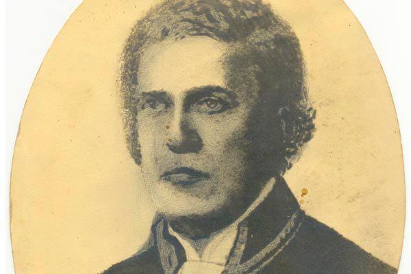 Pintura de Antônio Diogo Parreiras retrata a cena do Julgamento de Padre Miguelinho, figura importante na Revoluçãoem Pernambuco