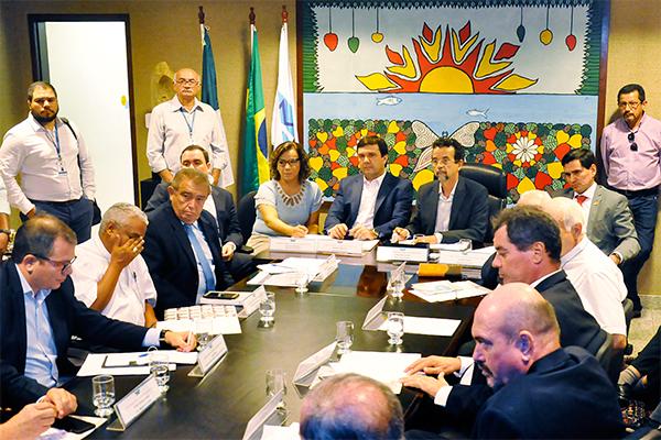 Parlamentares do RN e da Paraiba discutiram, na ALRN, as obras de integração do São Francisco
