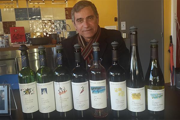 Seleção de vinhos provados no passeio pela Maison