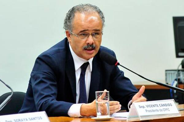 Vicente Cândido avisou que a proposta de voto em lista fechada estará no projeto de reforma