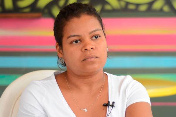 Raquel Jácome é vegetariana estrita e quer ser vegana