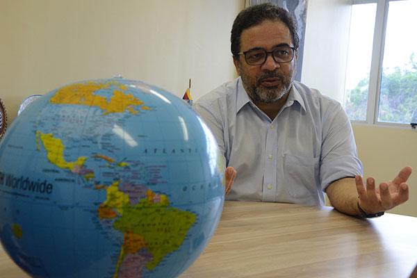 Márcio Venício Babosa, coordenador da Secretaria de Relações Internacionais da UFRN