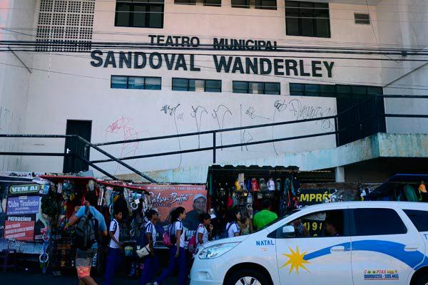 Resultado de imagem para imagens do teatro Sandoval Wanderley em Natal rn