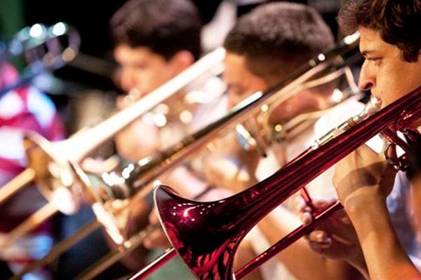 Concerto da Big Band Jerimum Jazz encerra a manhã da sexta-feira na Cooperativa Cultural