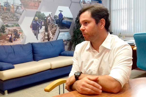 Marcelo Toscano afirma que a possibilidade de firmar uma PPP será definida somente após estudo