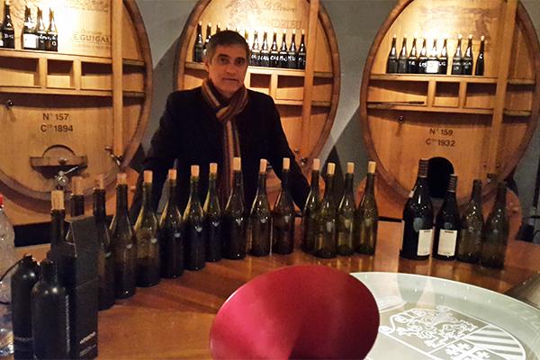 Degustação de vinhos de alta gama da Maison Guigal