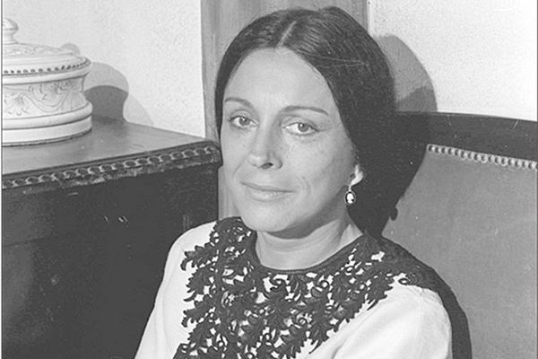 Neuza Amaral no elenco da novela Cabocla, de 1979