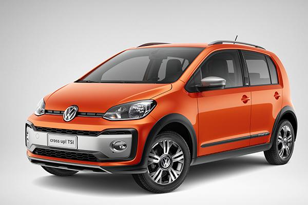 """O Volkswagen Novo Cross up! chega ao mercado brasileiro em busca dos consumidores que focam um veículo """"aventureiro"""""""