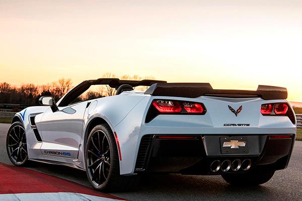Série especial: Corvette  Carbon 65ª Edition