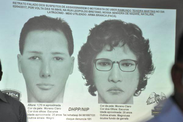 Dupla tem retrato falado divulgado