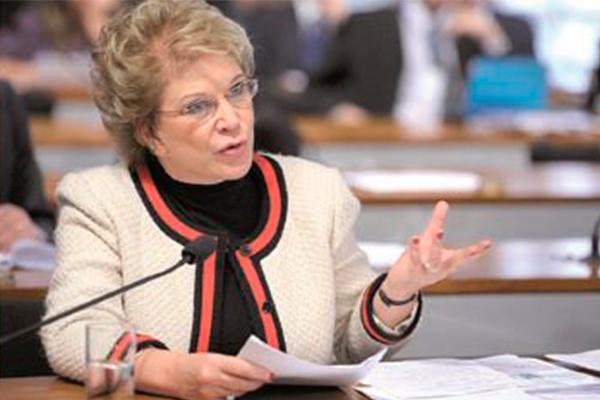 """Marta Suplicy, presidente da Comissão de Assuntos Sociais (CAS) do Senado: """"Teremos muitas audiências e debates para discutir"""""""