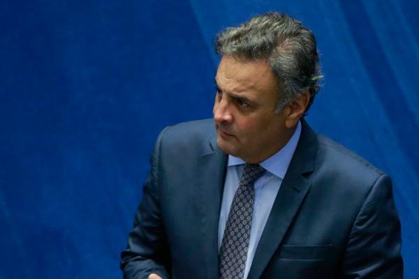 Aécio Neves foi um dos acusados na deleção dos donos da JBS