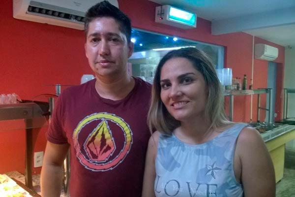 Miguel e Keila Miranda investiram na diversidade de menu nas duas lojas, servindo lanches, refeições e padaria