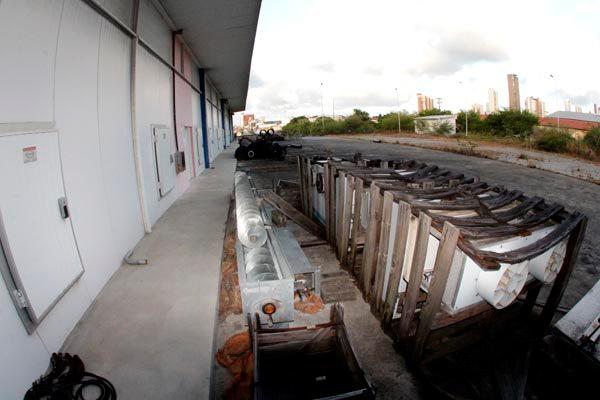 Uma das obras citadas no relatório é o Terminal Pesqueiro, na zona Leste de Natal, que está há cinco anos com obras paralisadas