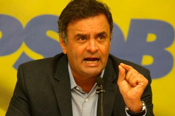 Aécio Neves nega que tenha pedido dinheiro ilegal ao empresário do grupo JBS
