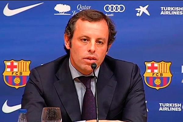 Sandro Rosell foi preso na Espanha por fraudes envolvendo jogos da Seleção Brasileira