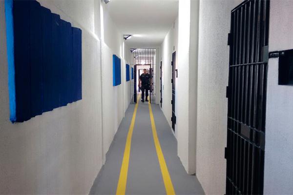 Resultado de imagem para fotos da penitenciaria de alcaçuz reformada