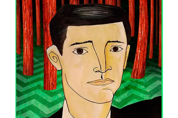 Agente Dale Cooper em releitura do artista Pedro Balduíno