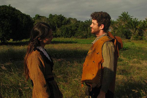 Thallita Kume e Leonardo Miggiorin em cena de Nova Amsterdam, cuja estreia será em setembro