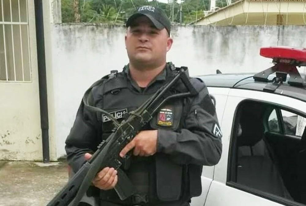 Soldado Carlos Eduardo foi morto a tiros durante assalto