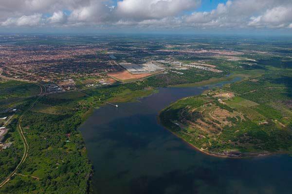Chuvas aumentaram o volume de água na Lagoa de Extremoz