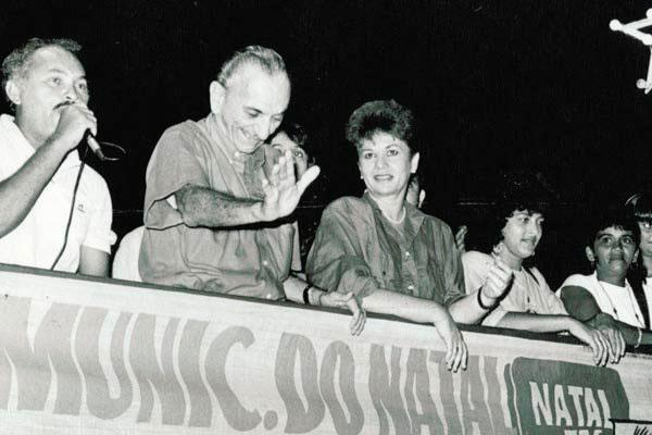 Wilma exerceu o 1º mandato de prefeita no final da década de 80