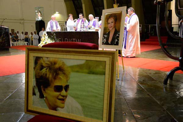 Arcebispo metropolitano de Natal, Dom Jaime Vieira Rocha, celebrou a missa de corpo presente  e destacou que Wilma de Faria fez história no Rio Grande do Norte