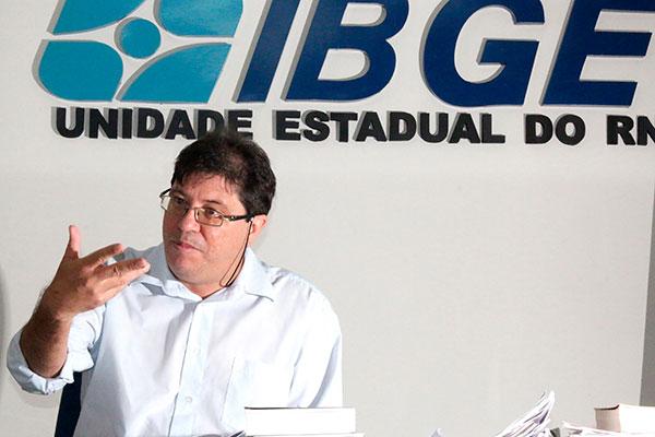 Aldemir Freire, economista e chefe do IBGE: Reação vai demorar