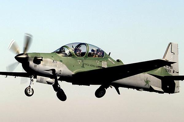 EUA está avaliando para uso da Defesa, o avião de ataque A-29 Super Tucano