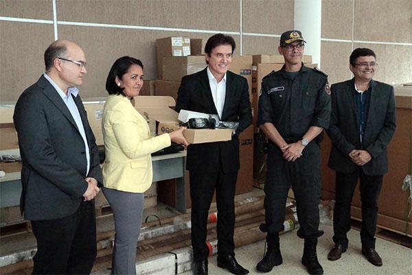 Governador destacou investimentos na área da segurança