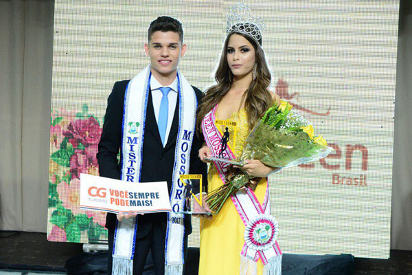 Alisson Neres de 18 anos e Leticia Marques, de 14 anos, serão os representantes mossoroenses nos concursos Mister e Miss Teen RN, respectivamente