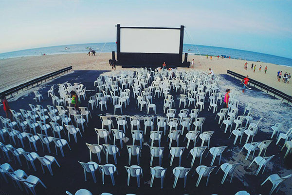 Mostra de Cinema de Gostoso acontece na praia