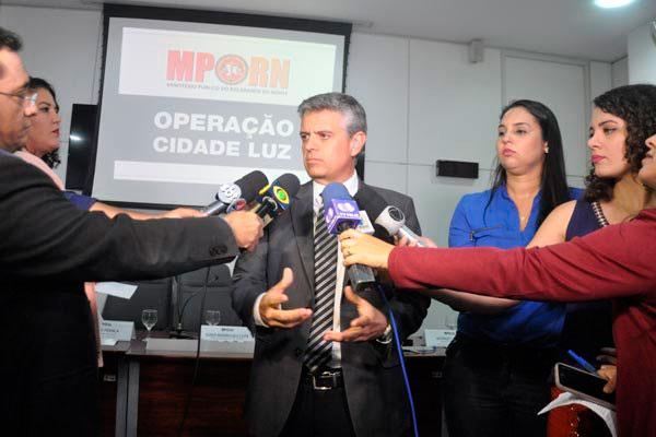 Promotor Giovanni Rosado detalhou os esquemas da fraude