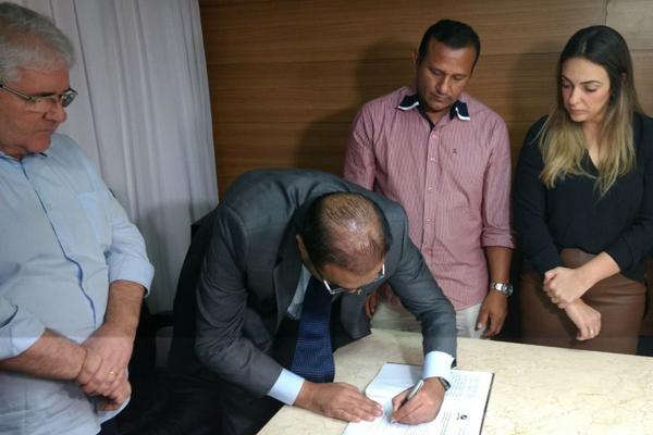 Ney Lopes Júnior assumiu a presidência em função do afastamento judicial de Raniere Barbosa (PDT)