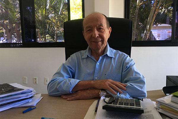 O reitor da Uni-RN, Daladier Pessoa Cunha Lima ressaltou a importância do Enem como principal forma de ingresso ao ensino superior