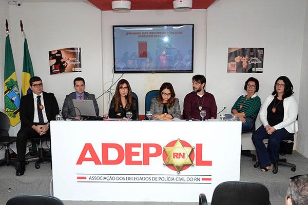 Representantes da Adepol/RN e Assep/RN cobraram prioridade para a Segurança e expuseram a situação de penúria das delegacias