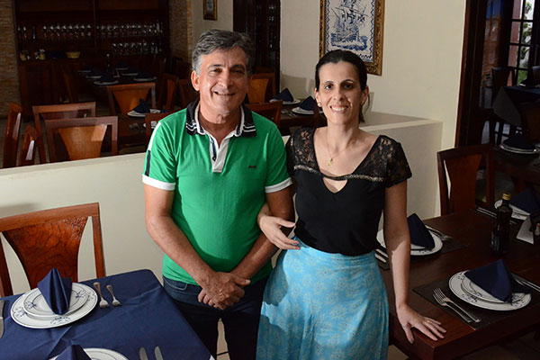 Antes de abrir o Santa Maria, o português Domingos Sanches já tinha 20 anos de cozinha. Muito de sua arte ele passou para filha Andréa