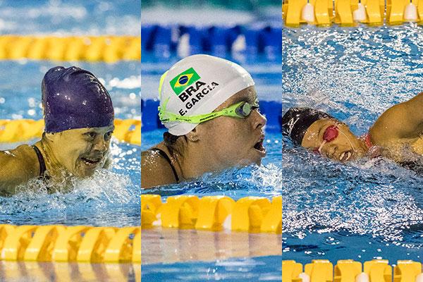 Nadadoras potiguares lutam por medalhas em mais uma competição internacional
