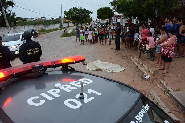Levantamento do Obvio/RN aponta que, neste último final de semana, mais de um terço dos homicídios ocorreu em vias públicas