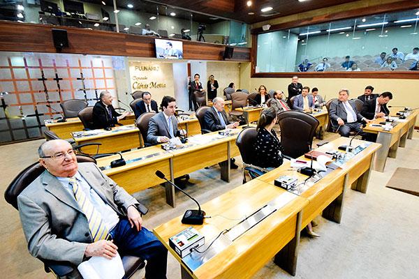 Deputados discutem o projeto enviado pelo governo para autorizar movimentação no Funfir