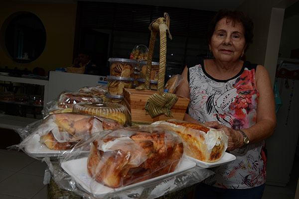 Quando veio da Bahia, nos anos 70, Anúbia trouxe a receita