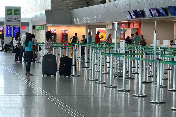 Inframerica afirma que movimento de aeronaves e passageiros no aeroporto subiu em 2017