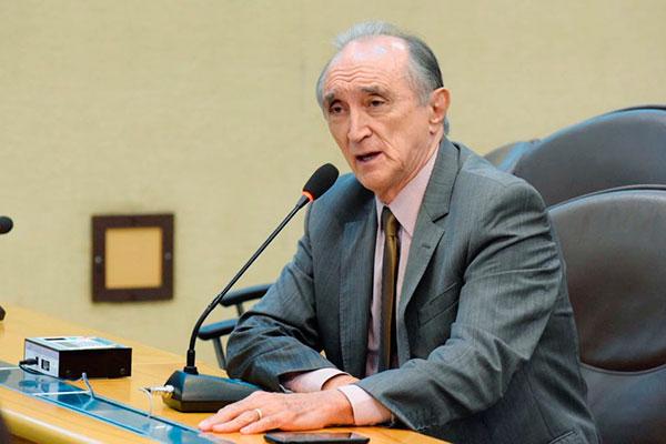 Getúlio Rego quer alterações na proposta
