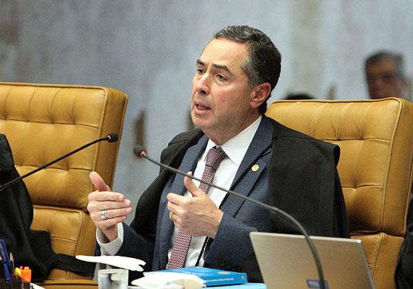 Ministro do STF, Luiz Roberto Barroso destaca que o inquérito é necessário à transparência