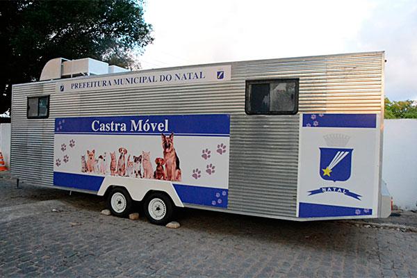Veículos estão no Centro de Controle de Zoonoses (CCZ)