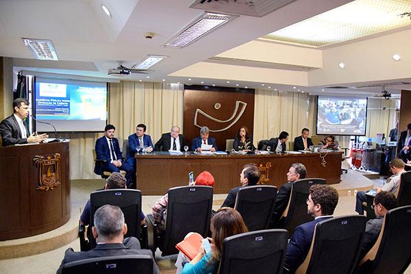 Deputados estaduais apresentaram os questionamentos sobre o projeto da operação de crédito