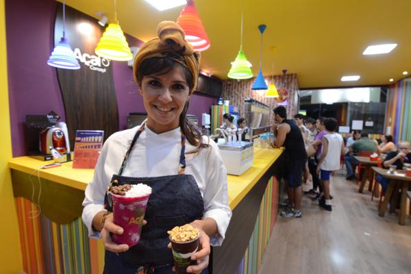 Chef Marina Pantoja criou receitas e drinques em noite de experimentos com pitaya