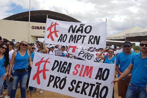 Ministério Público do Trabalho afirma que ação não inviabiliza modelo do Pró-Sertão, mas foi o alvo principal dos manifestantes