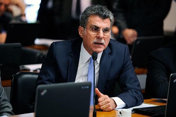 Romero Jucá formalizou uma proposta para o fundo eleitoral