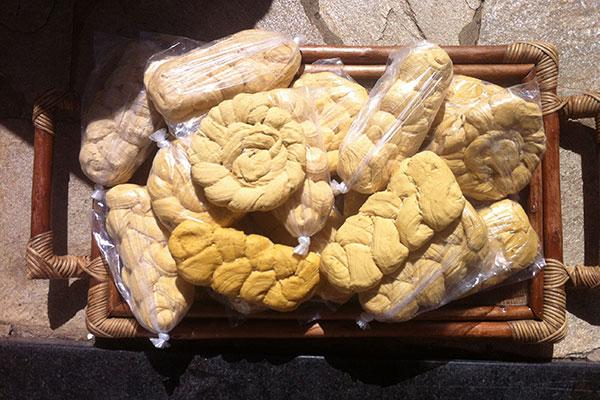 Alfenim de rapadura é item do cardápio da Fazenda São Francisco
